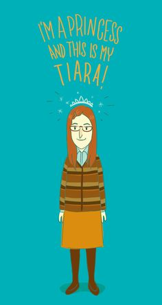 Amy Farrah Fowler :) big bang, princess, tiara, geek girls, halloween costumes, art, bang theori, farrah fowler, ami farrah