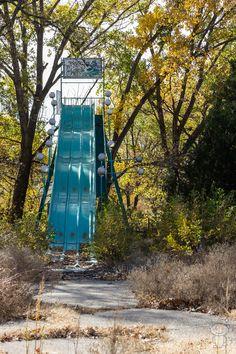 Slide,Joyland - Abandoned Amusement Park [OC] - Imgur.com