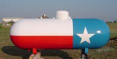 propane tank art