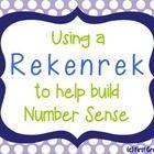Number Sense - Rekenrek (Push Bead) Cards & Activities