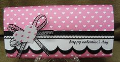 Valentine Candy Bar Wrapper..large candy bar