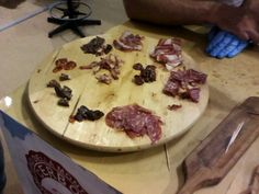 A variety of Salami. #maremma #tuscany #prodottitipici #localproducts #food