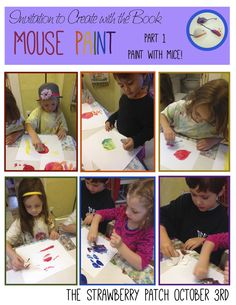 Mouse Paint and Activities to go with!