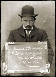 mugshot / indecent exposure / 1902
