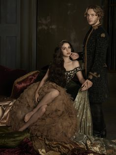 Our newly reigning power couple exposes the sultry side of royalty. #Reign premieres Thursday, Oct. 2 at 9/8c! #love #fashion #royalty