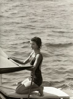 Jackie Kennedy on vacation in Ravello, Italy, 1962