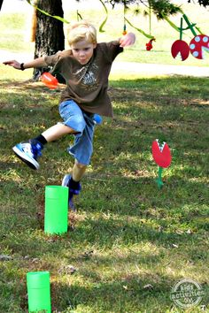 DIY Super Mario Party with Obstacle Course - http://kidsactivitiesblog.com/47603/diy-super-mario-party-obstacle-course