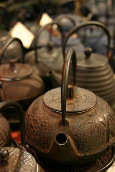 Japanese iron kettles
