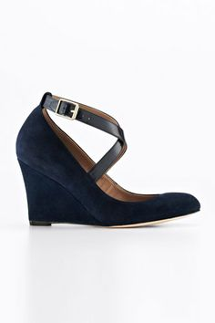 Own the office in ankle strap shoes