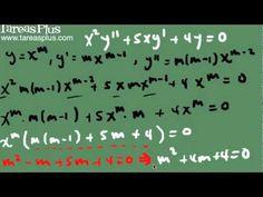 Ecuación de cauchy – Euler (raíces reales iguales)