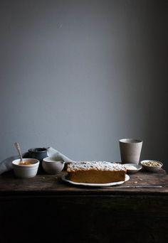 pumpkin tea cake by