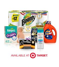 Target/ Proctor and Gamble: $10 Coupons + Free Gift Card -