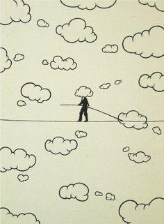 Yuri Hasegawa / tightrope walker, 2009