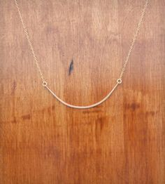 Rose Gold Bar Necklace by Moulton on Scoutmob Shoppe