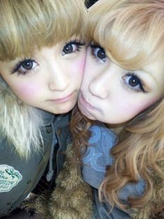 Super adorable Makeup! #kawaii #cute #super #adorable #love #sweet