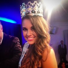 Courtney Thorpe Crowned Miss World Australia 2014 crown misss, courtney thorp, thorp crown