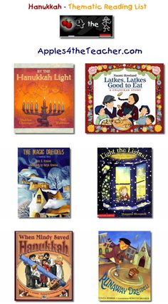 Suggested thematic reading list for Hanukkah