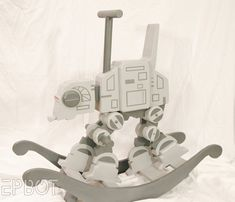 AT-AT Rocking horse with DIY instructions. Uh, wow. Every Star Wars fan will want this on her baby shower list.