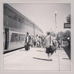 Amtrak's San Joaquin trains travel between Sacramento, Calif., and Bakersfield, Calif.