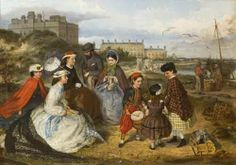 A Victorian Family at the Seaside