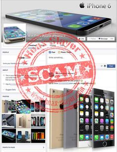 SURVEY SCAM - 'Win Free Apple iPhone 6'  The site and the associated Facebook Page are fraudulent. The site is not giving away iPhone 6's as claimed. It is a scam designed to trick you into spamming your friends with the fake promotion and divulging personal information via dodgy online surveys.