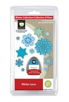Winter Lace Seasonal Cricut Cartridge