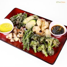 Vegetable Tempura by Michael Symon! #TheChew