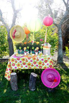 mexican fiesta birthday theme - Google Search
