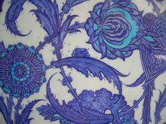 blue, purple, floral