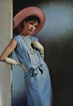 Dress Nina Ricci, L'Art et la Mode March 1965