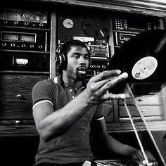 Magic Johnson, spinning discs when he wasn't shooting hoops.
