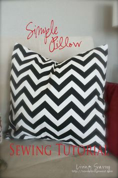 Sewing a Basic Pillow