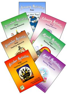 Seasonal Mini Pack Combo includes all 7 Seasonal Activities from Teaching Resources - Engaging and academic activities to keep your kids on task even on special holidays - Save $ when you purchase all 7 together!
