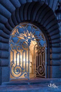 The Secret Entrance to Invalides Station, Paris, France. Photo MurielAuvray.com
