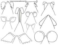 Cartoon Animal Heads
