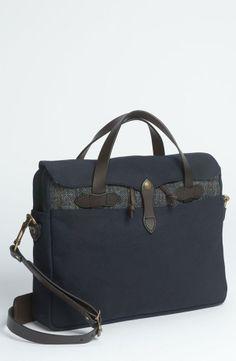 Work time! Twill Briefcase