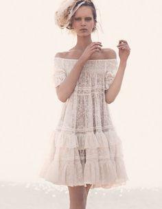 fashion, cloth, style, inspir, beauti, white lace, wear, lace sundress, lace dresses