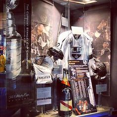 Our Stanley Cup Champion display at the @HockeyHallFame