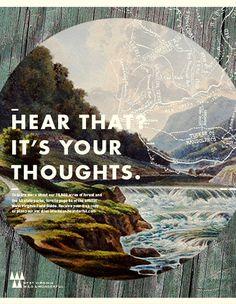 West Virginia Tourism Print ad