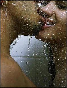 . showers, beaches, romanc, a kiss, foods, blondes, murals, lips, kisses