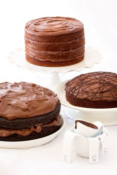Buttermilk Chocolate Cake with Chocolate Cream Cheese Frosting. Donna Hay