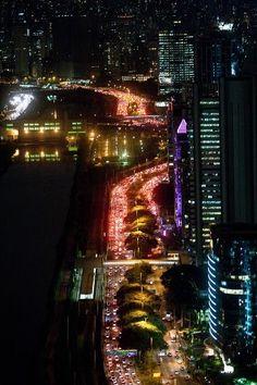 Love the night life in Sao Paulo !