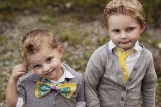 Boys in their bowties