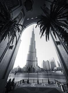 Burj Khalifa, The World's tallest building, Dubai, United Arab Emirates  #travel #MiddleEast
