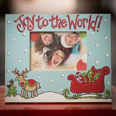Glory Haus Joy To The World Reindeer Frame