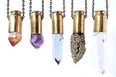 healing crystal bullets