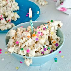Birthday Cake Popcorn is easy to make, delicious and super FUN!