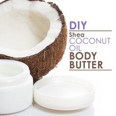 DIY Shea Coconut Oil