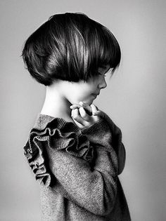 Knitted beauty, always adore a good ruffle (or three)