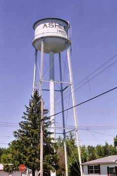 Ashley Ohio Water Tower by RickM2007, via Flickr